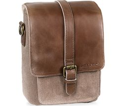 Heritage PAB49BR Binocular Shoulder Case - Brown & Tan