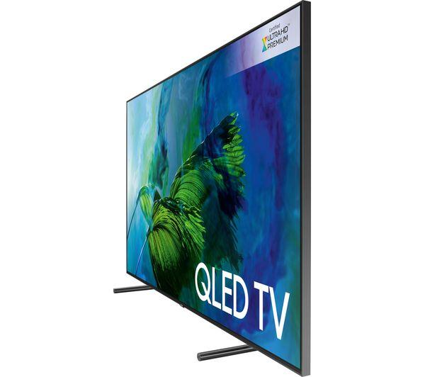 buy samsung qe65q9famt 65 smart 4k ultra hd hdr qled tv sflez14 medium to large fixed tv. Black Bedroom Furniture Sets. Home Design Ideas