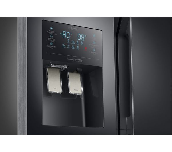 samsung fridge freezer black