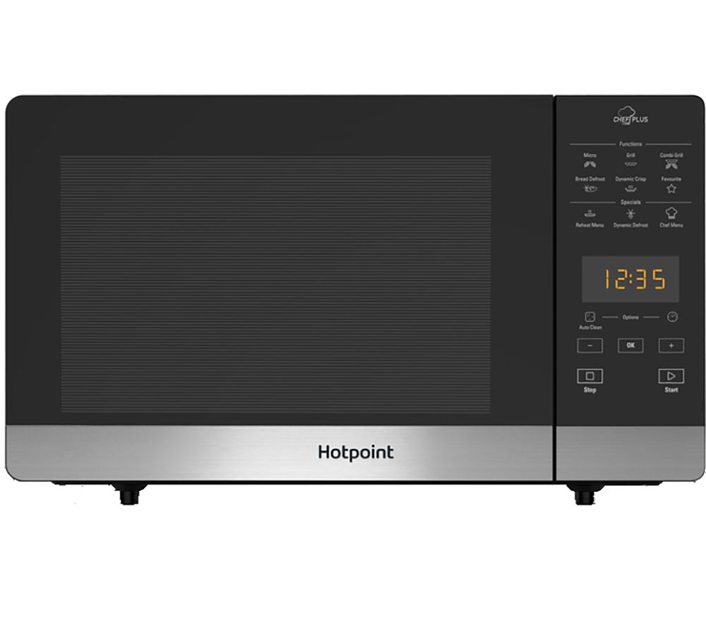 HOTPOINT MWH 27321 B Compact Microwave with Grill - Black
