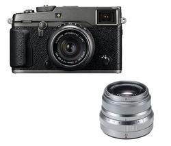 FUJIFILM X-Pro2 Mirrorless Camera with 23 mm f/2 Lens - Graphite