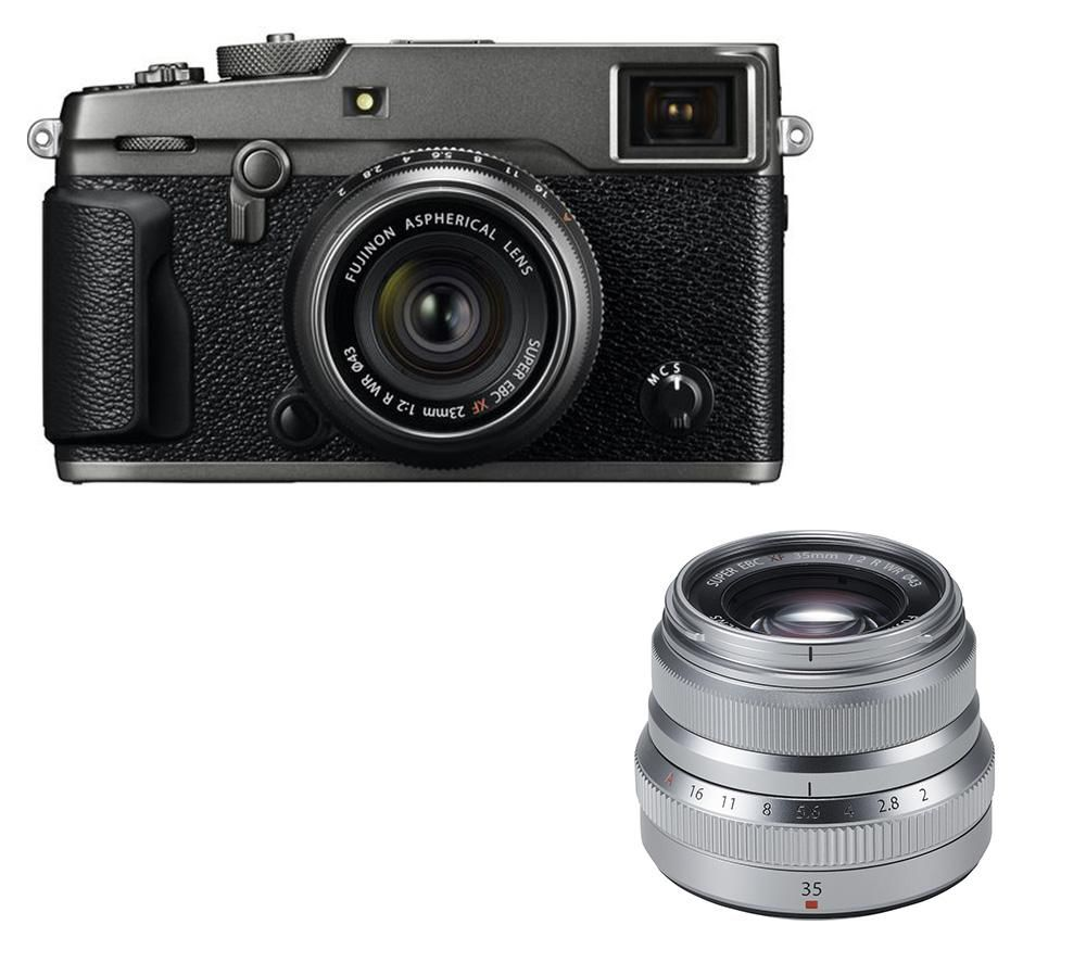 FUJIFILM X-Pro2 Mirrorless Camera & Twin Lens Bundle