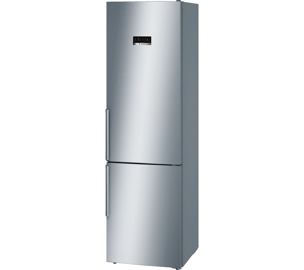 buy bosch serie 4 kgn39xl35g 70 30 fridge freezer stainless steel free delivery currys. Black Bedroom Furniture Sets. Home Design Ideas