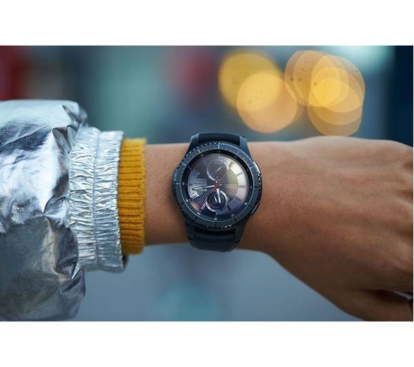 SAMSUNG Gear S3 Frontier - Space Grey, Universal