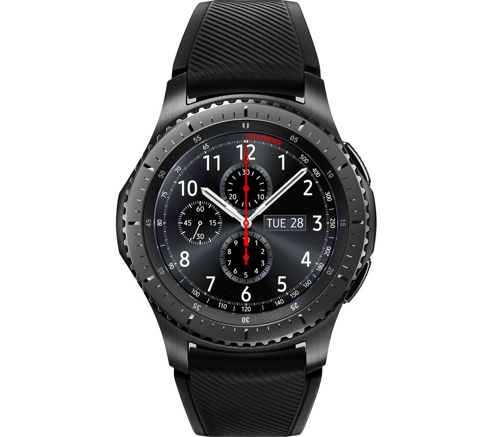 SAMSUNG Gear S3 Frontier - Space Grey, Universal