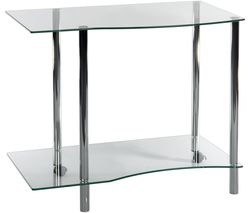 TEKNIK Ice Light Workstation 83428 Work Centre - Clear Glass