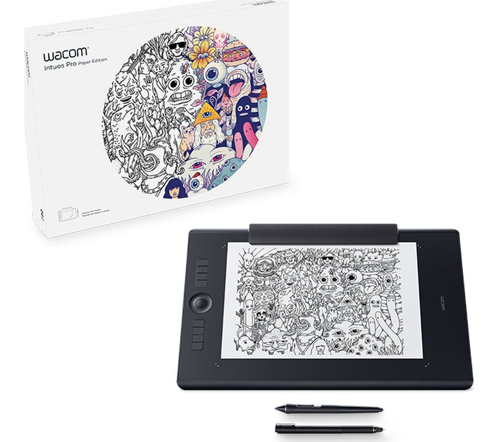 Compare prices for Wacom Intuos Pro Paper PTH-860P-N 17 Inch Graphics Tablet