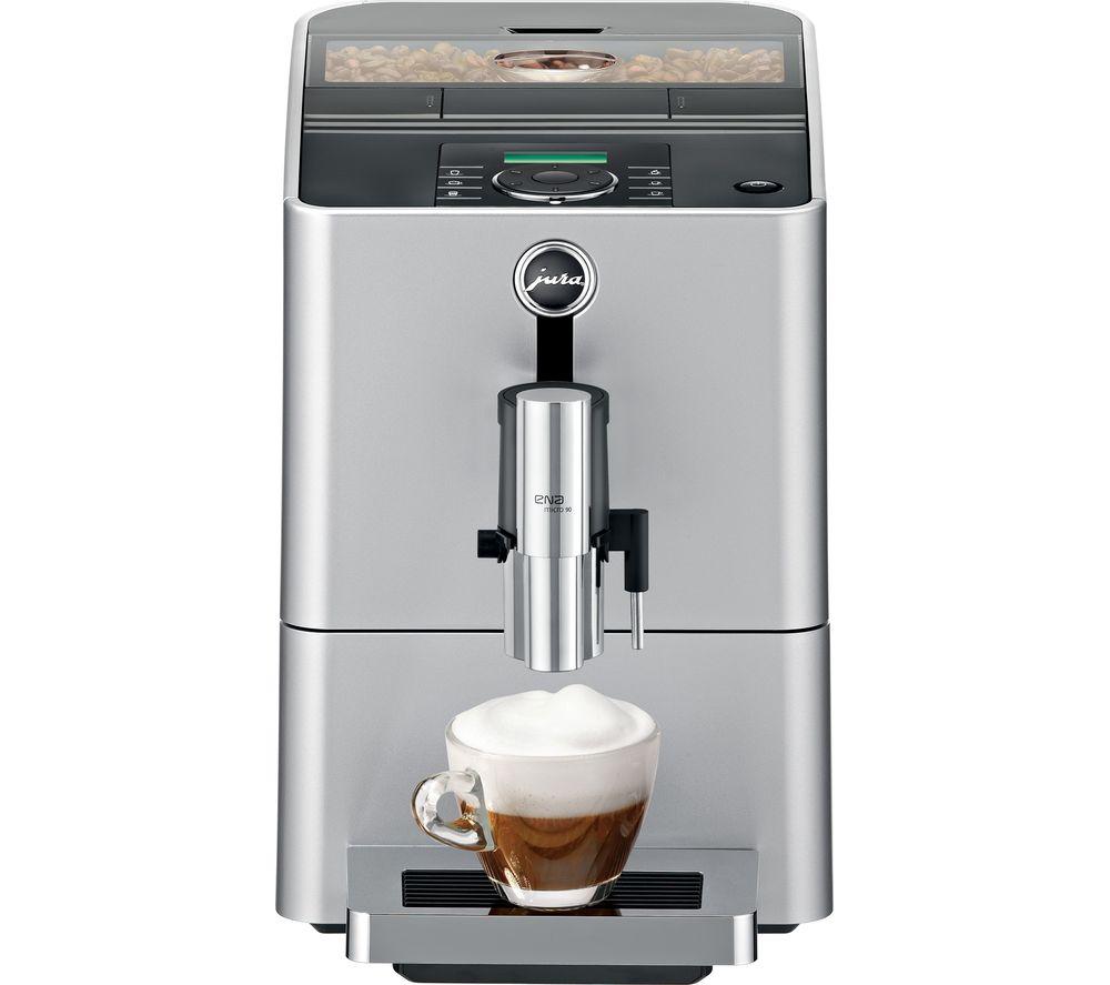 Buy JURA Micro 90 Bean to Cup Coffee Machine - Silver | Free ...