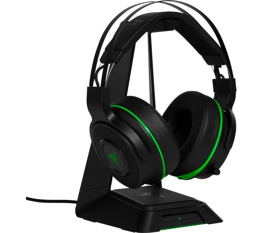 RAZER Thresher Ultimate Wireless 7.1 Gaming Headset - Black & Green