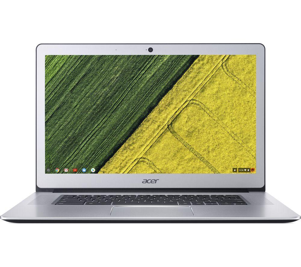 Image of ACER CB515-1HT 15.6 Intel® Pentium Chromebook - 64 GB eMMC, Silver, Silver