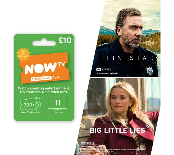 Image of NOW TV Entertainment Pass - 2 Month