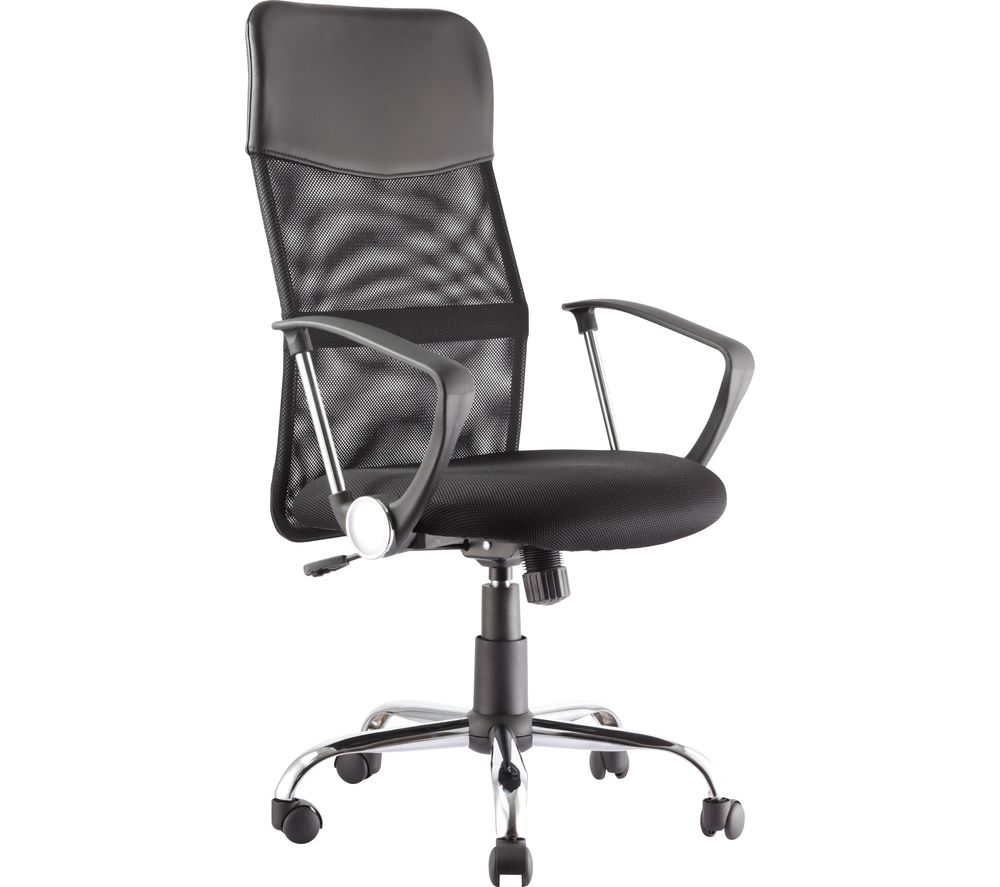 ALPHASON Orlando AOC4087BLK Tilting Operator Chair - Black