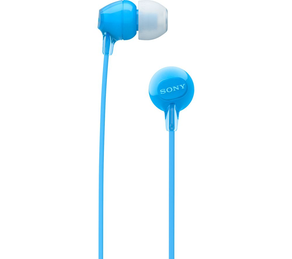 SONY WI-C300 Wireless Bluetooth Headphones - Blue
