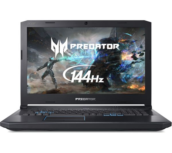 "Image of ACER Predator Helios 500 17.3"" Intel® Core™ i7 GTX 1070 Gaming Laptop - 1 TB HDD & 256 GB SSD"
