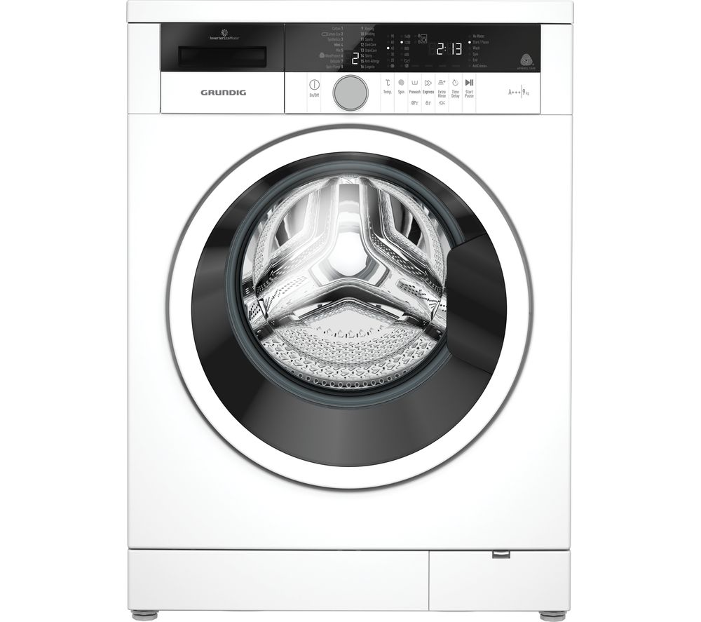 GRUNDIG GWN39430W 9 kg 1400 Spin Washing Machine - White