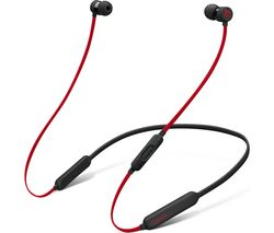 BEATS Decade Collection Beats X Wireless Bluetooth Headphones - Red & Black