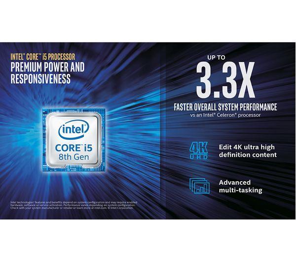 MSI Infinite 8RA Intel® Core™ i5 GTX 1050 Gaming PC - 2 TB HDD, Black