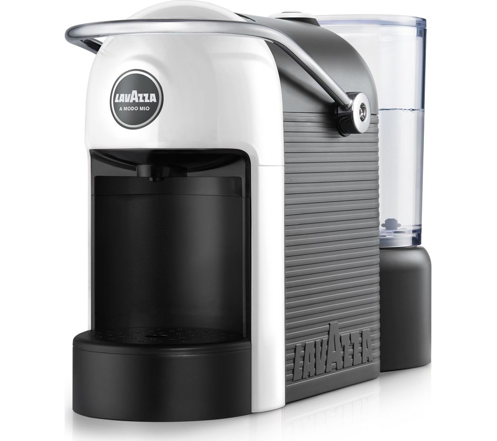 LAVAZZA A Modo Mio Jolie Coffee Machine – White, White