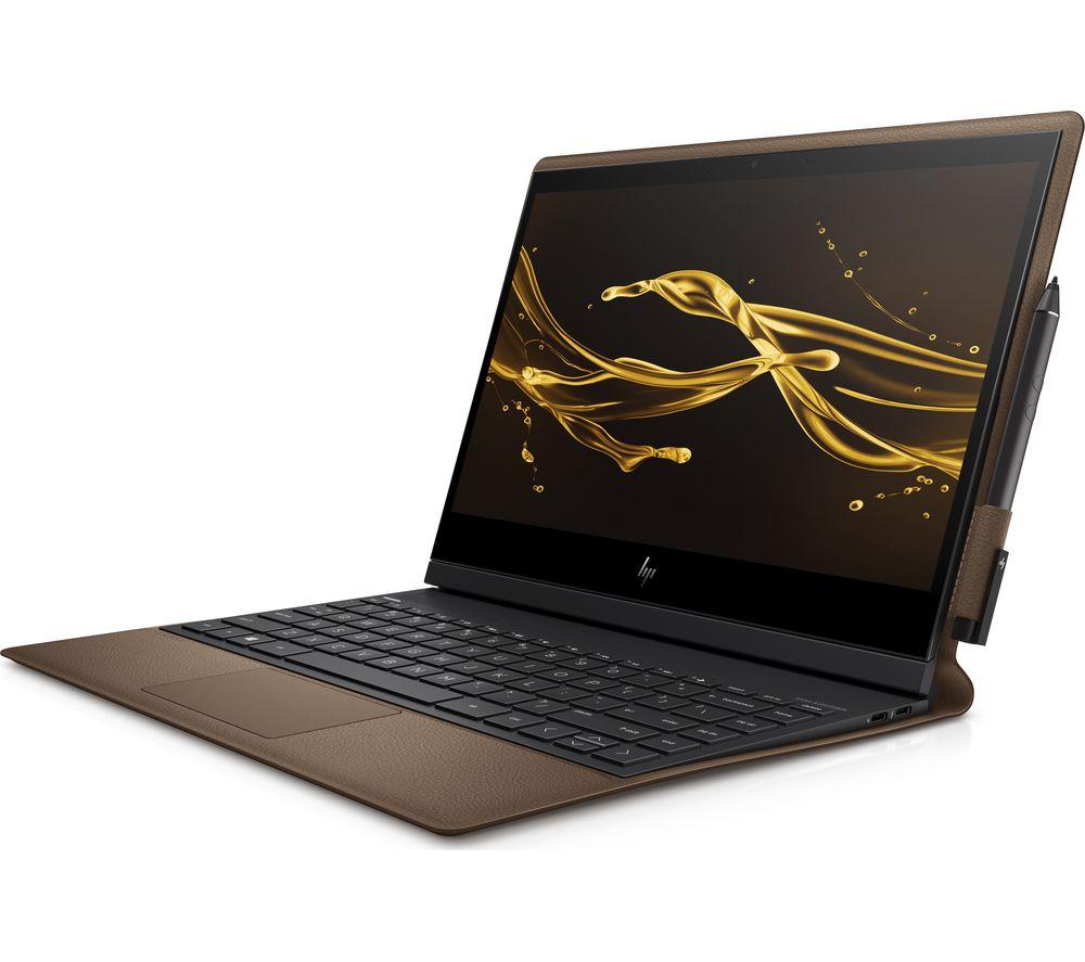 "HP Spectre Folio 13"" Intel® Core™ i5 2 in 1 - 256 GB SSD, Brown Cognac Leather, Brown"