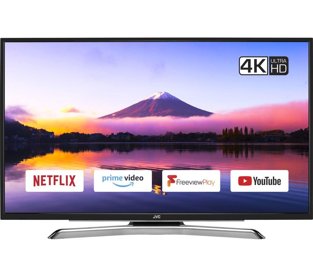 "JVC LT-43C890 43"" Smart 4K Ultra HD HDR LED TV"