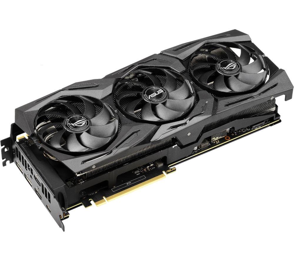 Image of ASUS Advanced GeForce RTX 2080 Ti 11 GB ROG Strix Graphics Card