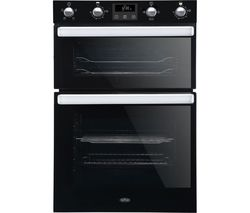 BELLING BI902FP Electric Double Oven - Black