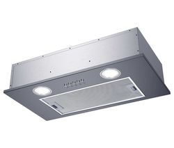 CANDY CBG52SX Canopy Cooked Hood - Silver