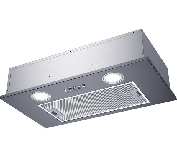 Image of CANDY CBG52SX Canopy Cooked Hood - Silver