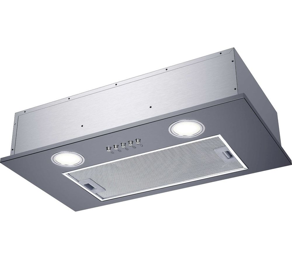 Image of CANDY CBG52SX Canopy Cooked Hood - Silver, Silver