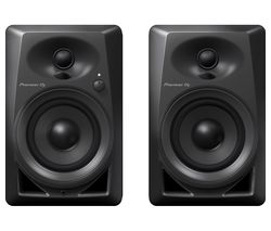 DM-40 2.0 Active Monitor Speakers - Black