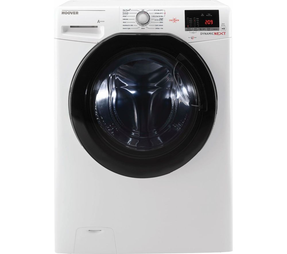 Dynamic DXOC410AFN3 NFC 10 kg 1400 Spin Washing Machine - White, White