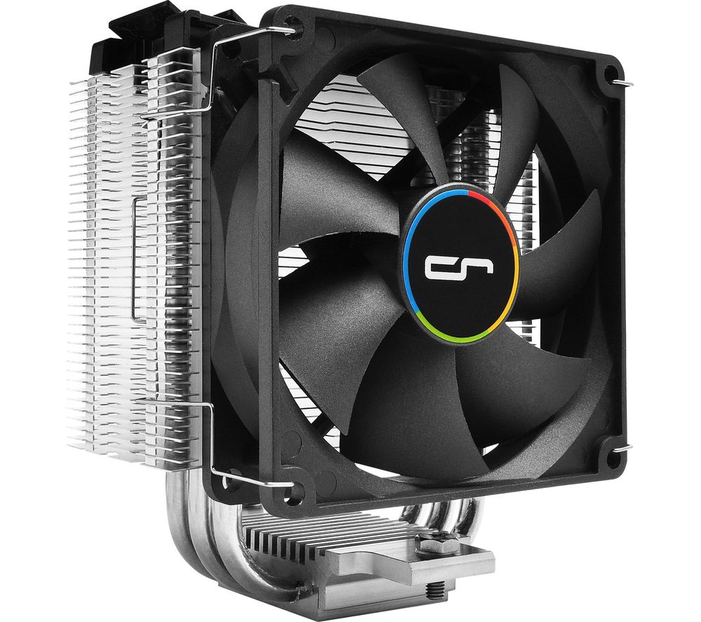 Image of M9i 120 mm CPU Cooler - Black & Silver, Black