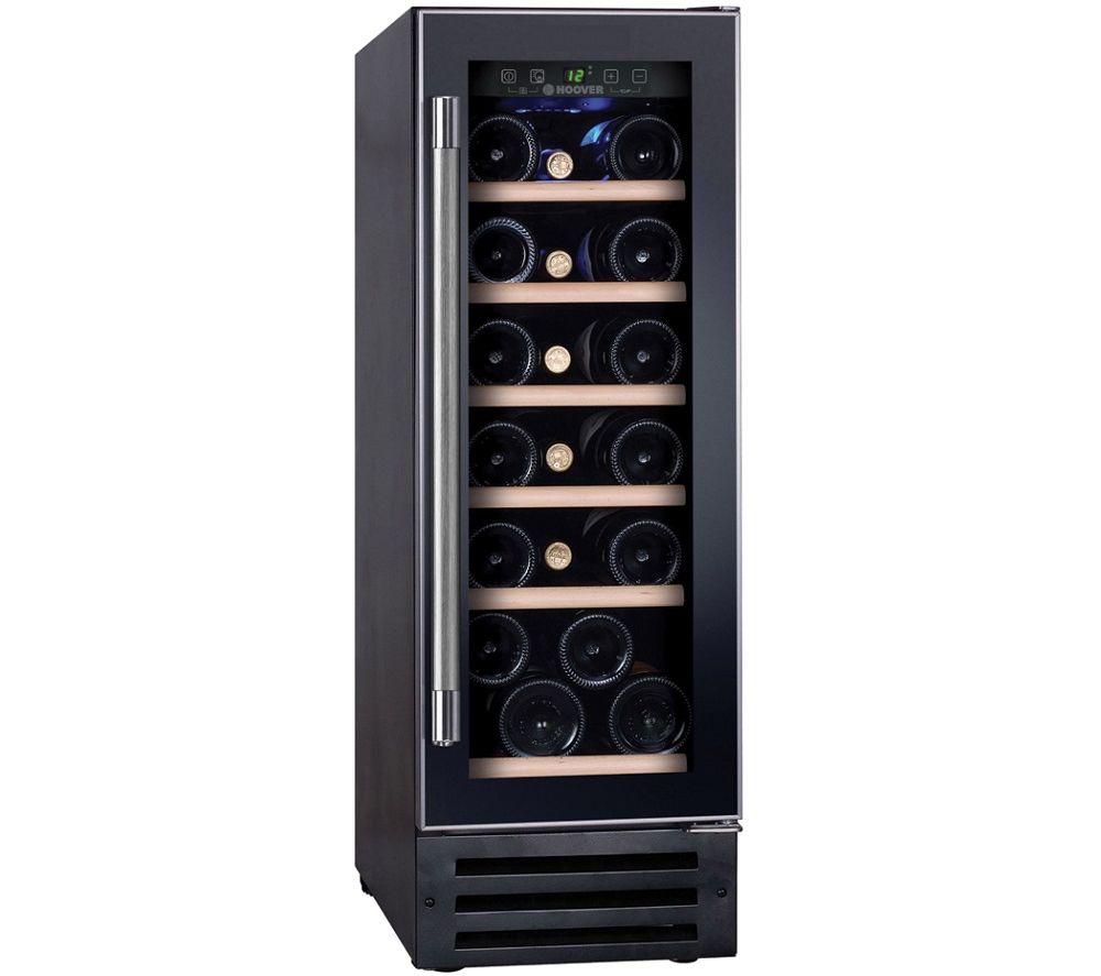 HOOVER H-WINE 500 HWCB 30 Wine Cooler – Black