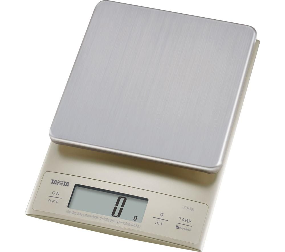 Image of KD-321 Electronic Kitchen Scale - Silver, Silver