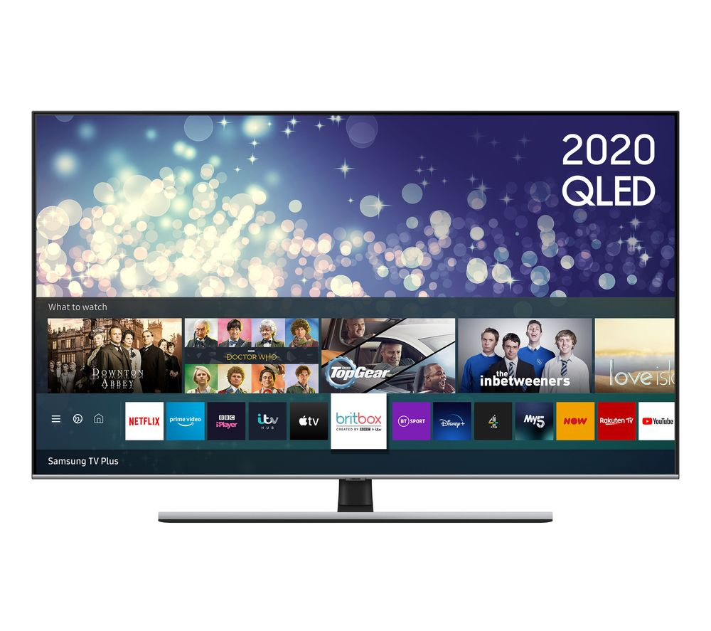 "Image of 55"" SAMSUNG QE55Q75TATXXU Smart 4K Ultra HD HDR QLED TV with Bixby, Alexa & Google Assistant"