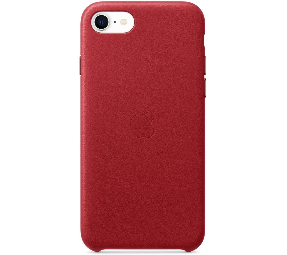 APPLE iPhone SE Leather Case - Red
