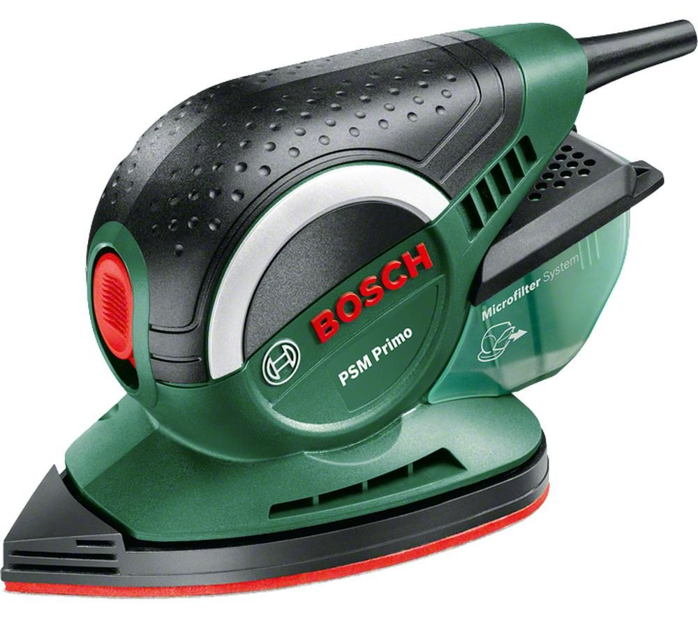BOSCH PSM Primo Multi-pad Sander - Black & Green
