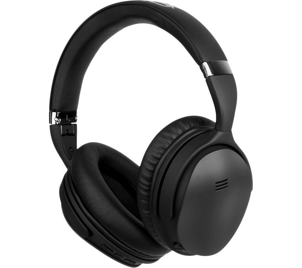 VOLKANO Silenco Series VK-2003-BK Wireless Bluetooth Noise-Cancelling Headphones - Black