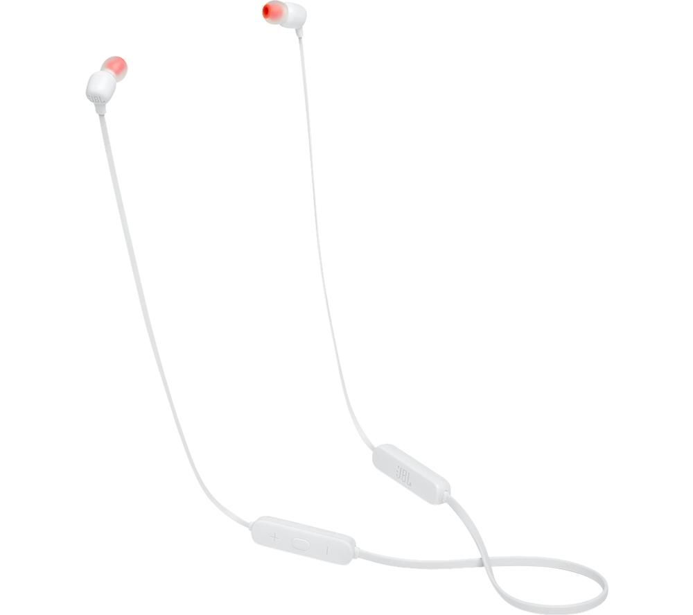 JBL Tune 115BT Wireless Bluetooth Earphones - White