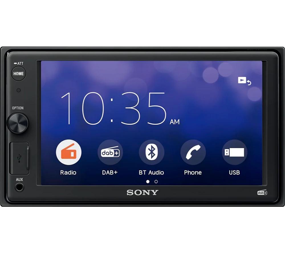 SONY XAV-1550D Smart Bluetooth Car Radio - Black, Black