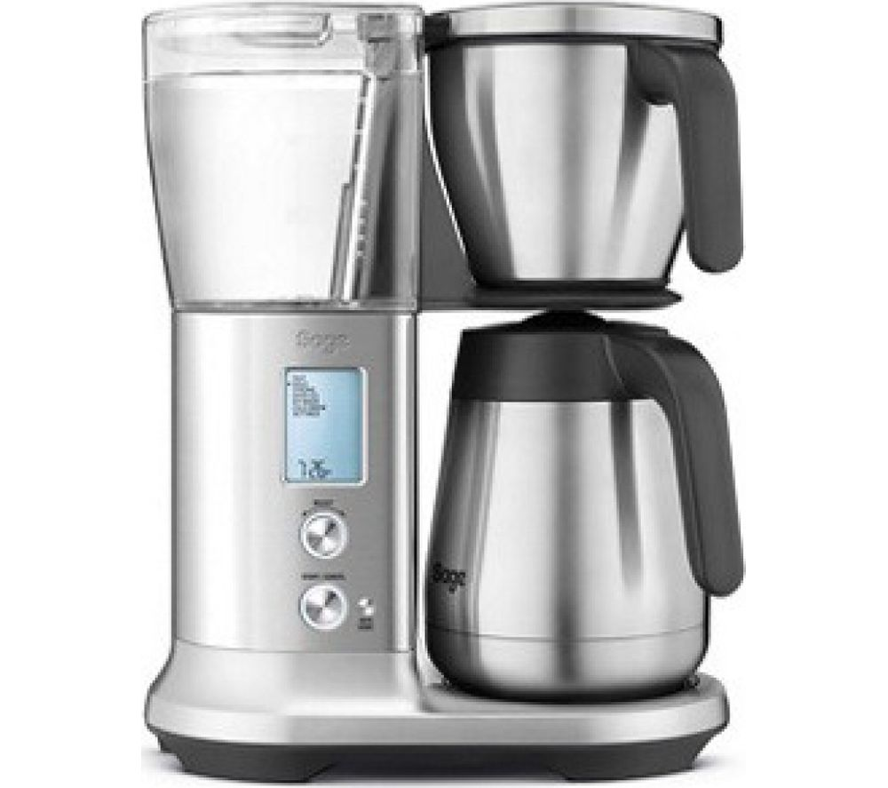 SAGE The Precision Brewer SDC450 Filter Coffee Machine - Silver, Silver