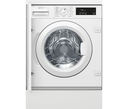 W543BX1GB Integrated 8 kg 1400 Spin Washing Machine - White