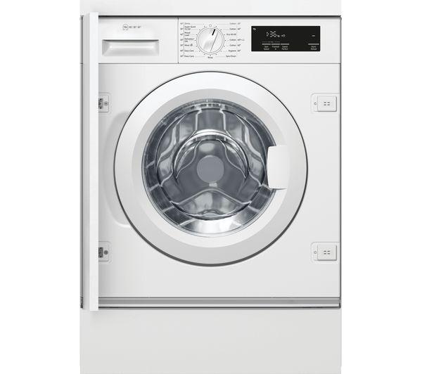 NEFF W543BX1GB Integrated 8 kg 1400 Spin Washing Machine - White