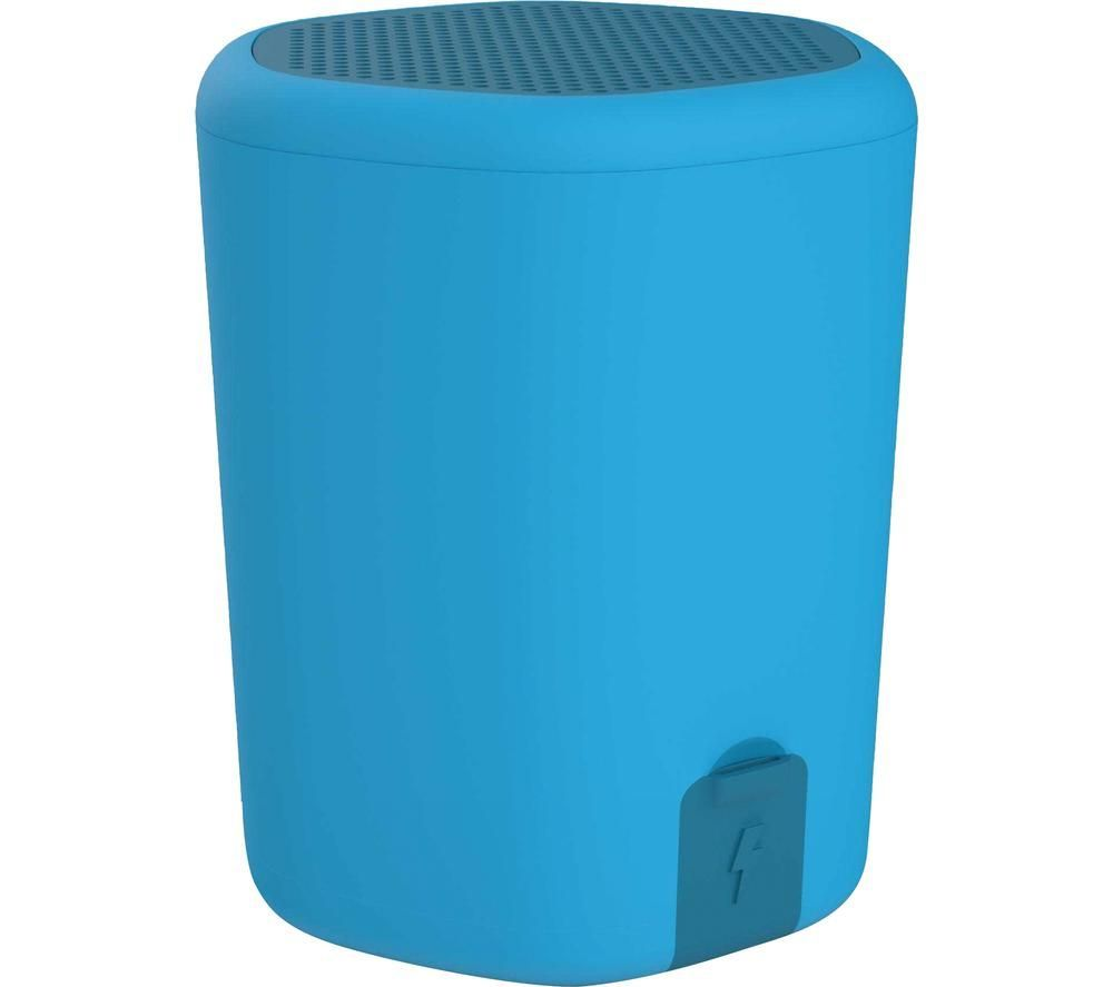 Kitsound Hive2o Portable Bluetooth Speaker - Blue, Blue