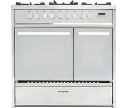 MRT91DFMX 90 cm Dual Fuel Range Cooker - Stainless Steel