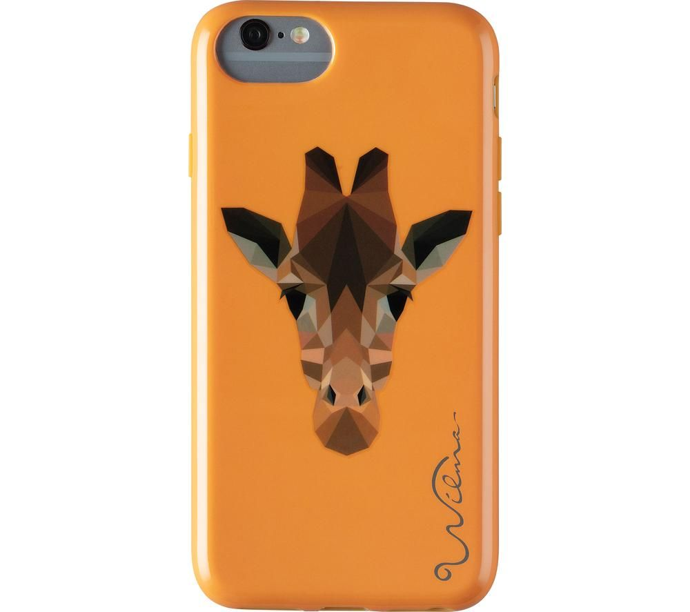 WILMA Electric Savanna Giraffe iPhone X / XS Case - Orange, Orange