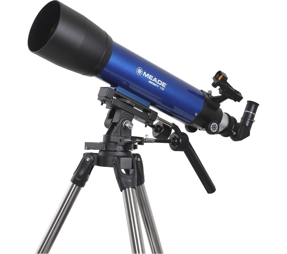 MEADE Infinity 102 Refractor Telescope - Blue, Blue
