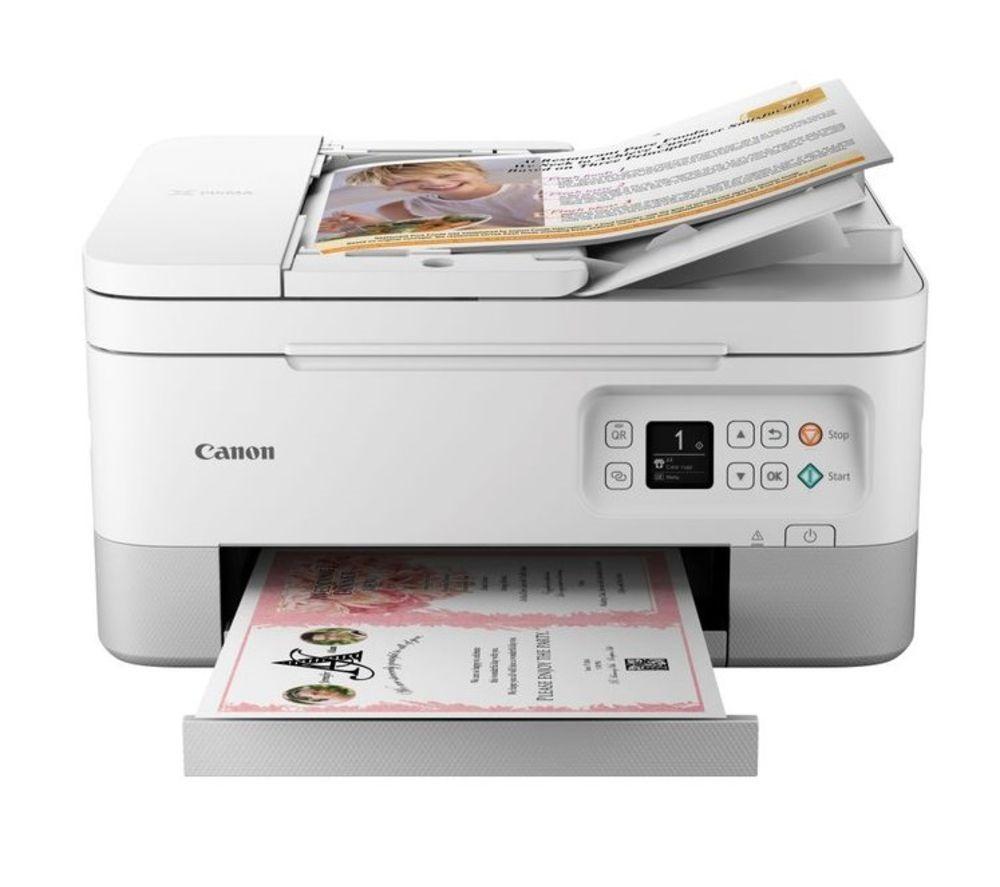 CANON PIXMA TS7451 All-in-One Wireless Inkjet Printer - White