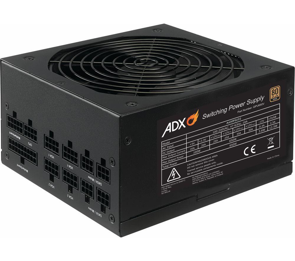 ADX Power W650 Modular ATX PSU - 650 W