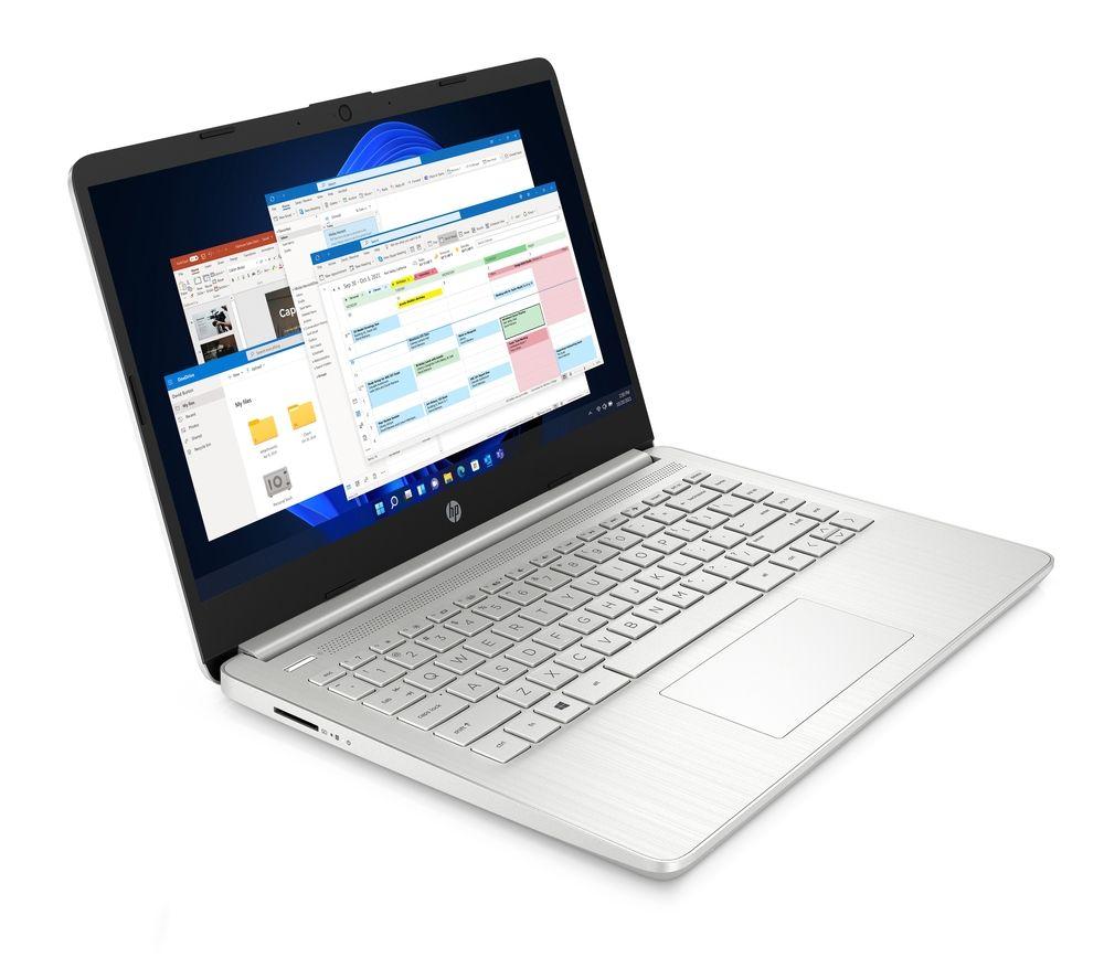 "HP 14s-dq2514na 14"" Laptop - Intel® Core i7, 512 GB SSD, Silver"